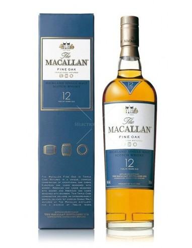 THE MACALLAN 12 ANS FINE OAK WHISKY
